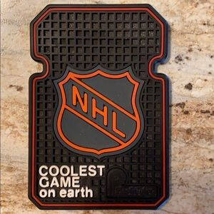 """NHL Rubber Floor May Coaster 3 1/2"""" x 5"""""""